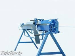 Ruční ohýbačka plechu ZGR 2000/0,8mm , Obchod a služby, Stroje a zariadenia  | Tetaberta.sk - bazár, inzercia zadarmo