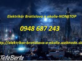 Elektrikár Bratislava -NONSTOP , Elektro, Sporáky, rúry na pečenie a mikrovlnky    Tetaberta.sk - bazár, inzercia zadarmo