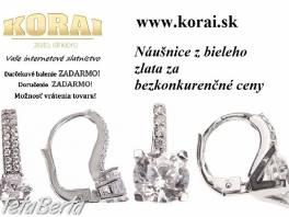Z bieleho zlata náušnice od KORAI šperky , Móda, krása a zdravie, Hodinky a šperky  | Tetaberta.sk - bazár, inzercia zadarmo