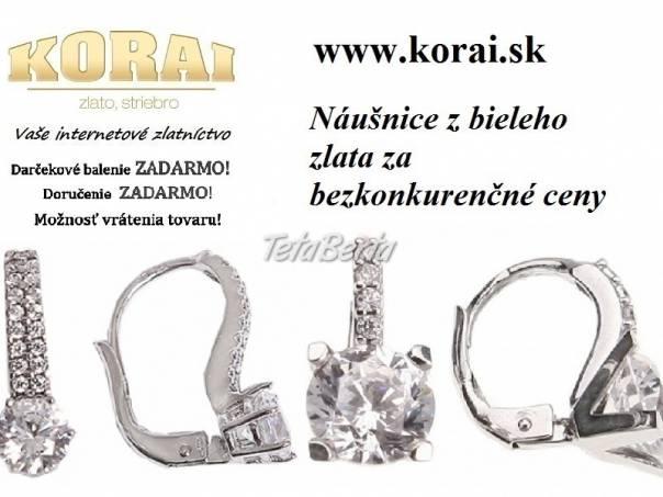 Z bieleho zlata náušnice od KORAI šperky fdb6519a3ab