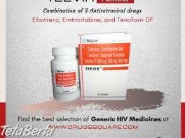 Teevir Tablet - Mylan Efavirenz, Emtricitabine and Tenofovir , Móda, krása a zdravie, Starostlivosť o zdravie  | Tetaberta.sk - bazár, inzercia zadarmo