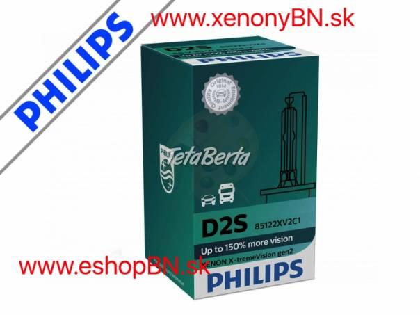 Najsilnejšie výbojky Philips D2S Xenon X-treme Vision 2.Gen, 4800K +150% 12V/24V TOP, foto 1 Náhradné diely a príslušenstvo, Ostatné   Tetaberta.sk - bazár, inzercia zadarmo