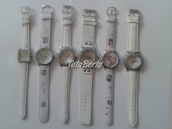 Hello Kitty hodinky v bielej farbe !, foto 1 Móda, krása a zdravie, Hodinky a šperky | Tetaberta.sk - bazár, inzercia zadarmo