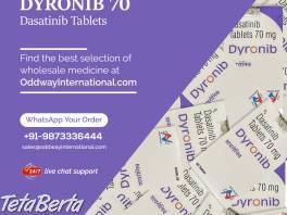 Kúpte si tablet DYRONIB 70MG dasatinib online z Indie , Móda, krása a zdravie, Starostlivosť o zdravie  | Tetaberta.sk - bazár, inzercia zadarmo