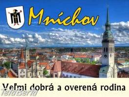 Mníchov – ponuka vo VEĽMI DOBREJ A OVERENEJ RODINE  , Práca, Zdravotníctvo a farmácia  | Tetaberta.sk - bazár, inzercia zadarmo
