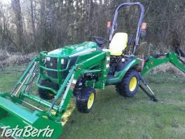 John Deere 1025R. traktor , Poľnohospodárske a stavebné stroje, Poľnohospodárské stroje  | Tetaberta.sk - bazár, inzercia zadarmo