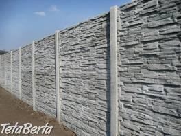 Vyrábame a montujeme betónové ploty,iba 23€ za 1bm , Dom a záhrada, Stavba a rekonštrukcia domu  | Tetaberta.sk - bazár, inzercia zadarmo