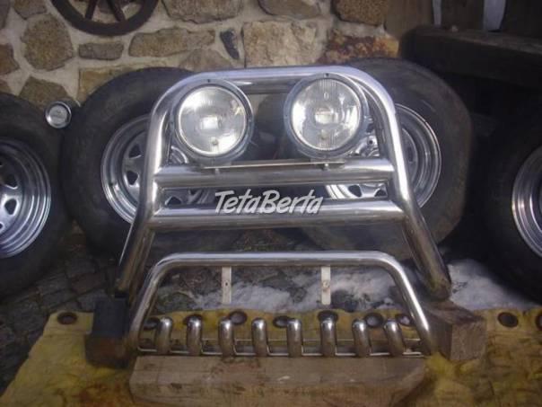Nissan Double Cab Hrazda se světly + zuby + kola, foto 1 Auto-moto | Tetaberta.sk - bazár, inzercia zadarmo