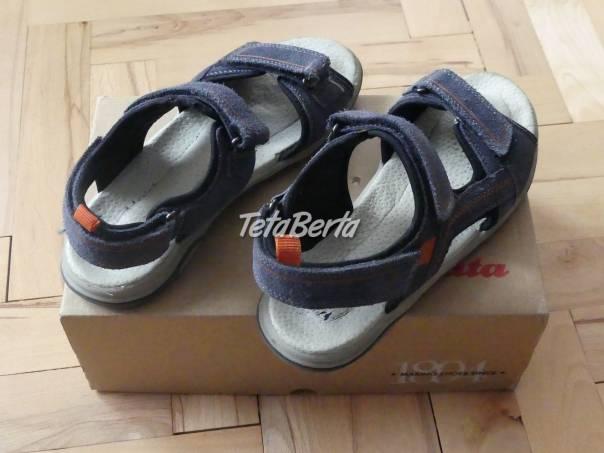 Predám športové kožené sandále Baťa č.39, foto 1 Pre deti, Detská obuv | Tetaberta.sk - bazár, inzercia zadarmo