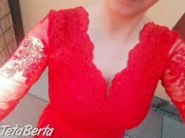 predám krásne červené šaty , Móda, krása a zdravie, Oblečenie  | Tetaberta.sk - bazár, inzercia zadarmo