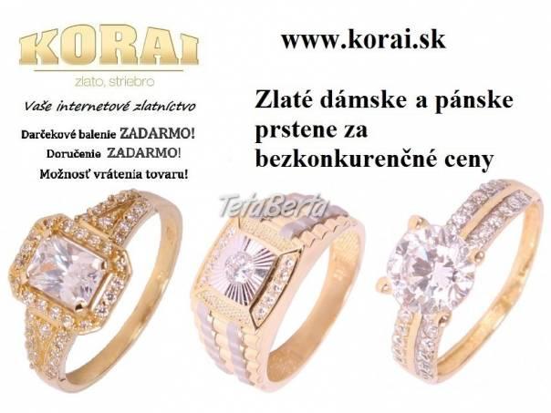 Prstene zlaté KORAI 8e7129487bb