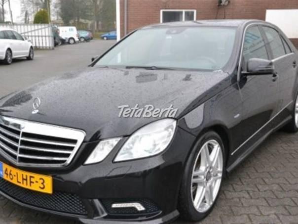 Mercedes-Benz Třída E 2,2   E 200 CDI AMG, foto 1 Auto-moto, Automobily | Tetaberta.sk - bazár, inzercia zadarmo