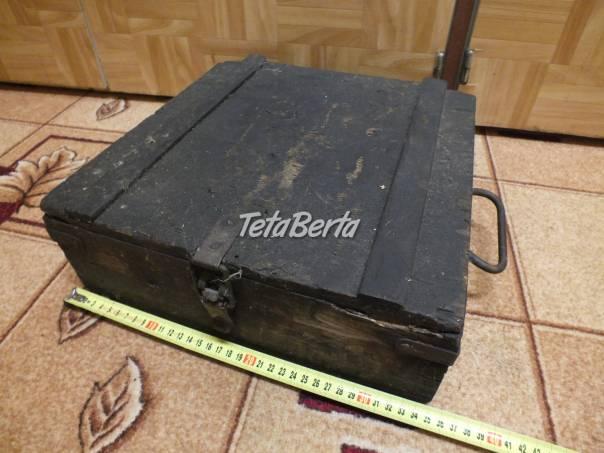 Predám drevenú malú bedničku. , foto 1 Hobby, voľný čas, Ostatné | Tetaberta.sk - bazár, inzercia zadarmo