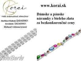 Náramky z bieleho zlata KORAI , Móda, krása a zdravie, Hodinky a šperky  | Tetaberta.sk - bazár, inzercia zadarmo