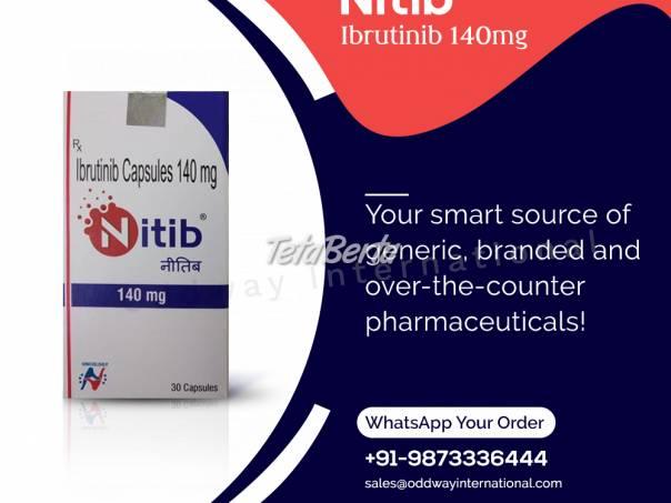 Kúpte si kapsulu NITIB 140MG Ibrutinib online z Indie, foto 1 Móda, krása a zdravie, Starostlivosť o zdravie | Tetaberta.sk - bazár, inzercia zadarmo