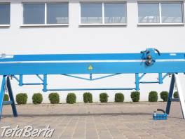 Klampiarska ohýbačka plechu 3 metre , Obchod a služby, Stroje a zariadenia  | Tetaberta.sk - bazár, inzercia zadarmo