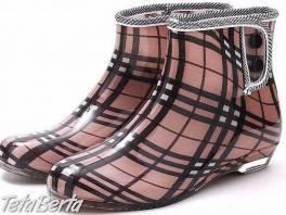 Luxusní kotníčkové gumáky, , Móda, krása a zdravie, Obuv  | Tetaberta.sk - bazár, inzercia zadarmo