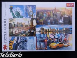 Trefl Puzzle New York koláž 4000 , Pre deti, Hračky    Tetaberta.sk - bazár, inzercia zadarmo