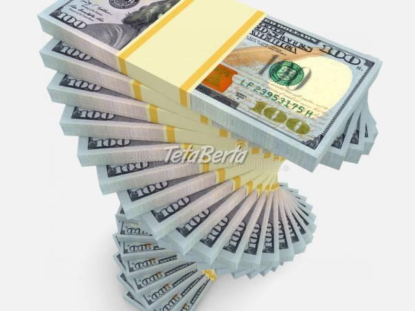 Finanční pomoc každému čestnému člověku., foto 1 Obchod a služby, Financie   Tetaberta.sk - bazár, inzercia zadarmo