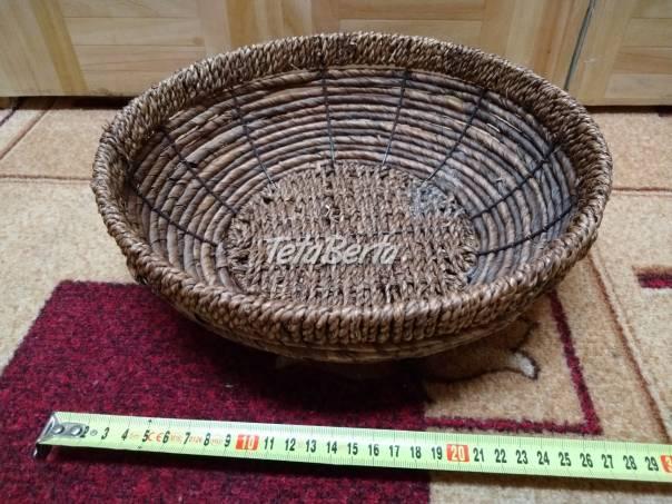 Predám slamený košík. , foto 1 Hobby, voľný čas, Ostatné | Tetaberta.sk - bazár, inzercia zadarmo
