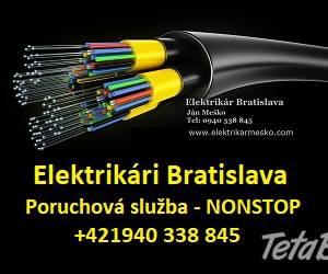 Elektrikár Bratislava + okolie, foto 1 Hobby, voľný čas, Ostatné   Tetaberta.sk - bazár, inzercia zadarmo