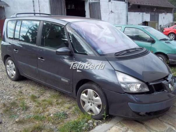 Renault Espace 3.0dci  prodám náhr.díly, foto 1 Auto-moto | Tetaberta.sk - bazár, inzercia zadarmo