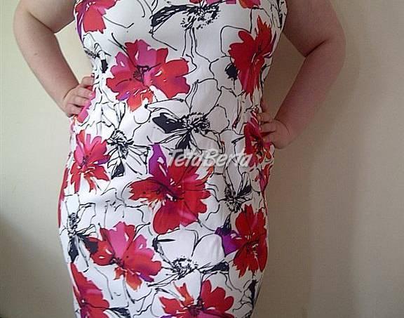 6afddb39b40e Kvetované elastické šaty v. 58 Moletka