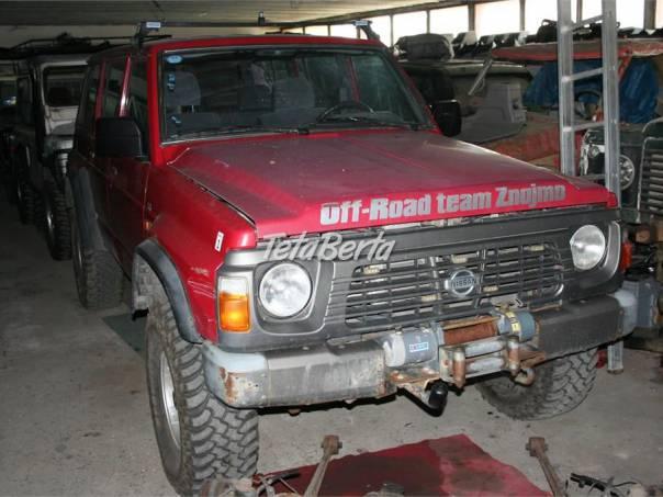Nissan Patrol Y60 - rozprodám na náhradní díly, foto 1 Auto-moto | Tetaberta.sk - bazár, inzercia zadarmo