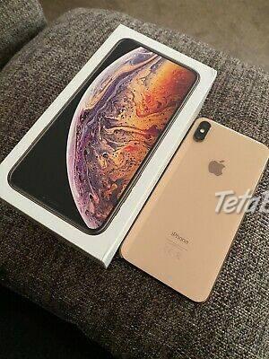 Apple iPhone xs max 256GB nový , foto 1 Elektro, Mobilné telefóny | Tetaberta.sk - bazár, inzercia zadarmo
