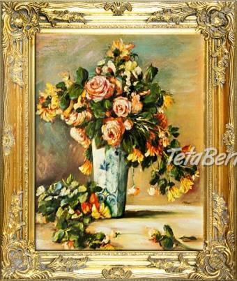 KYTICE - olejomalba na plátně, foto 1 Hobby, voľný čas, Umenie a zbierky | Tetaberta.sk - bazár, inzercia zadarmo