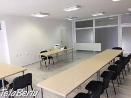 Príležitostný prenájom učebne, rokovacej miestnosti a kancelárií - Trnava