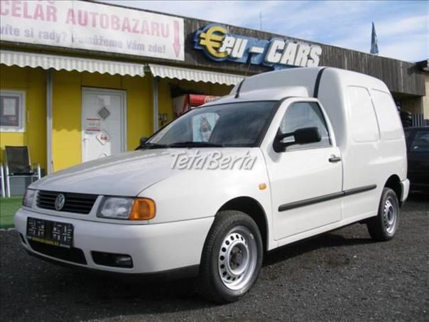 Volkswagen Caddy 1,9 SDi,KLIMA, foto 1 Auto-moto, Automobily | Tetaberta.sk - bazár, inzercia zadarmo