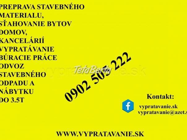 Stahovanie a preprava  Bratislava, foto 1 Dom a záhrada, Sťahovanie | Tetaberta.sk - bazár, inzercia zadarmo