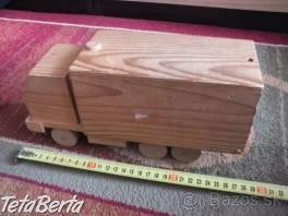 Predám drevené autíčko. , Pre deti, Hračky  | Tetaberta.sk - bazár, inzercia zadarmo