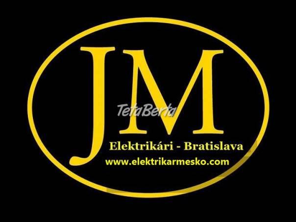 Elektrikár Bratislava a okolie, foto 1 Hobby, voľný čas, Ostatné | Tetaberta.sk - bazár, inzercia zadarmo
