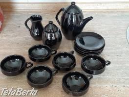 Predám čiernu perleťovú súpravu , Dom a záhrada, Vybavenie kuchyne    Tetaberta.sk - bazár, inzercia zadarmo