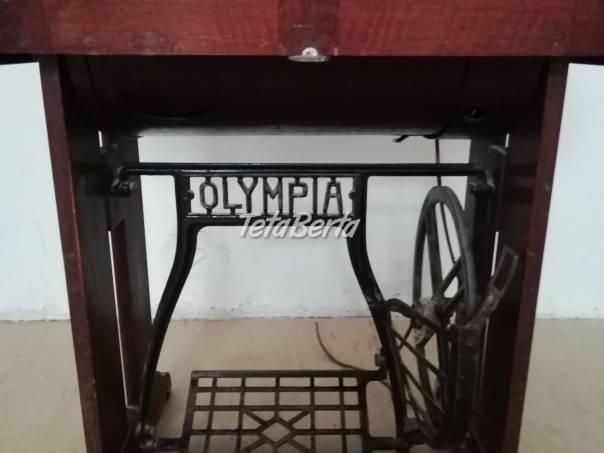 Predám šijací stroj OLYMPIA, foto 1 Hobby, voľný čas, Umenie a zbierky | Tetaberta.sk - bazár, inzercia zadarmo