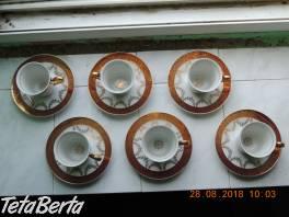 Súpravu kávových pozlátených šálok , Hobby, voľný čas, Umenie a zbierky  | Tetaberta.sk - bazár, inzercia zadarmo