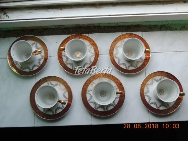Súpravu kávových pozlátených šálok, foto 1 Hobby, voľný čas, Umenie a zbierky | Tetaberta.sk - bazár, inzercia zadarmo
