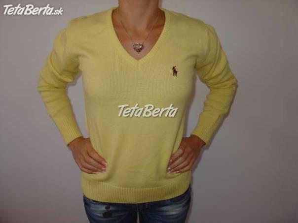 a984698f2bff Žltý sveter značky Ralph Lauren