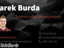 Ponúkam tvorbu webových stránok a webových aplikácií , Obchod a služby, Počítače  | Tetaberta.sk - bazár, inzercia zadarmo