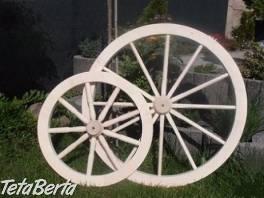 Dekoratívne koleso , Dom a záhrada, Záhradný nábytok, dekorácie  | Tetaberta.sk - bazár, inzercia zadarmo
