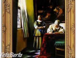ŹENA PÍŠÍCÍ DOPIS - olejomalba na plátně , Hobby, voľný čas, Umenie a zbierky  | Tetaberta.sk - bazár, inzercia zadarmo