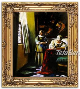 ŹENA PÍŠÍCÍ DOPIS - olejomalba na plátně, foto 1 Hobby, voľný čas, Umenie a zbierky | Tetaberta.sk - bazár, inzercia zadarmo