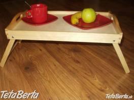Drevený podnos do postele , Dom a záhrada, Vybavenie kuchyne  | Tetaberta.sk - bazár, inzercia zadarmo