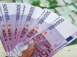 ponuky úverov pre všetky rýchle a spoľahlivé , Obchod a služby, Stroje a zariadenia  | Tetaberta.sk - bazár, inzercia zadarmo