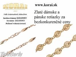 Retiazky zlaté KORAI , Móda, krása a zdravie, Hodinky a šperky  | Tetaberta.sk - bazár, inzercia zadarmo