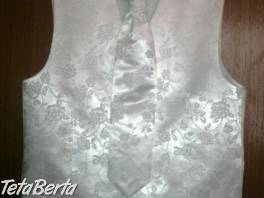 Svadobna vesta a kravata Ivora 54-52 - 54 , Móda, krása a zdravie, Svadby, plesy, oslavy  | Tetaberta.sk - bazár, inzercia zadarmo