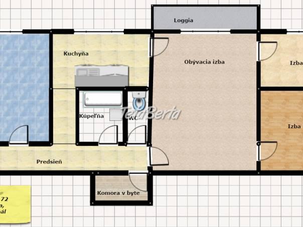 4 izb.byt ul.Tr.SNP, 72 m2, 5/10 poschodí, čiastočná rek., OV, foto 1 Reality, Byty | Tetaberta.sk - bazár, inzercia zadarmo