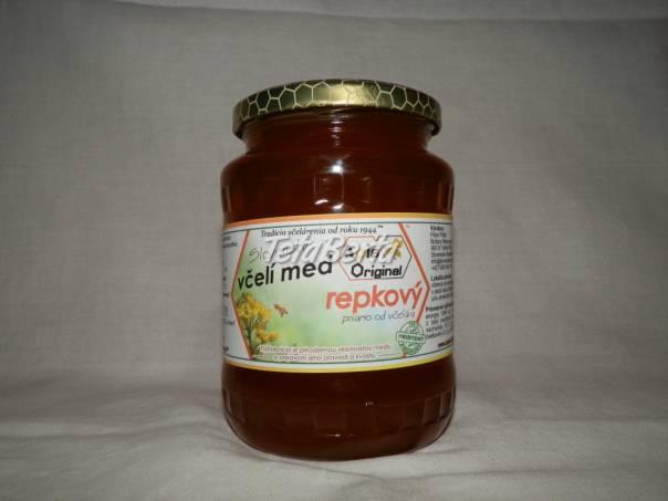 Repkový včelí med priamo od registrovaného včelára, foto 1 Dom a záhrada, Zo záhradky   Tetaberta.sk - bazár, inzercia zadarmo